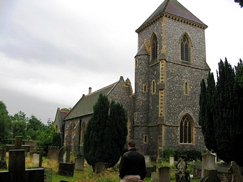 St. Mary The Blessed Virgin Churchyard, Addington, Surrey, England
