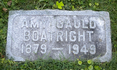 Amy Gauld Boatright Marker