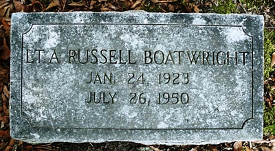 Andrew Russell Boatwright Gravestone