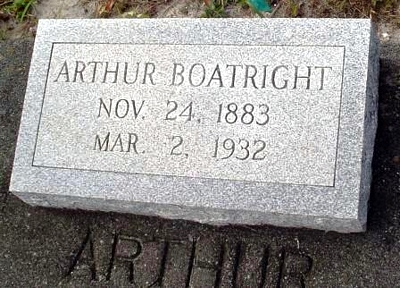 Arthur Ozias Boatright Marker