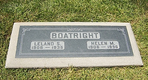 Leland Stanford Boatright and Helen Margaret Powers Marker