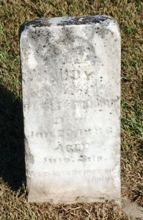 Audy J. Boatright Gravestone