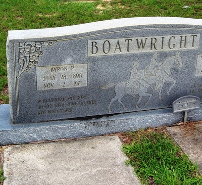 Byron Philip Boatwright Gravestone