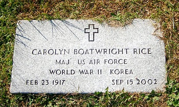 Carolyn Boatwright Rice Marker