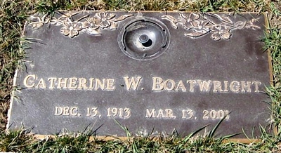 Catherine W. Meagher Boatwright Marker
