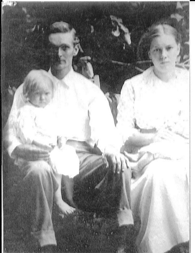 Charles Boatright and Family