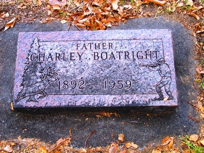 Charles Boatright Gravestone