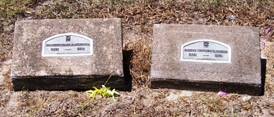 Charles Columbus and Maude Lee Foster Boatwright Gravestone