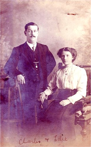Charles James Botwright and Edith Mary Ward