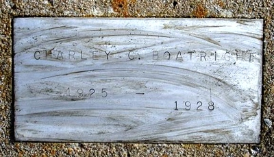 Charley Clinton Boatright Marker