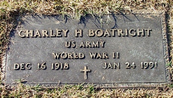 Charley Howard Boatright Marker