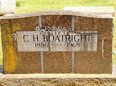 Chesley Hood Boatright Gravestone