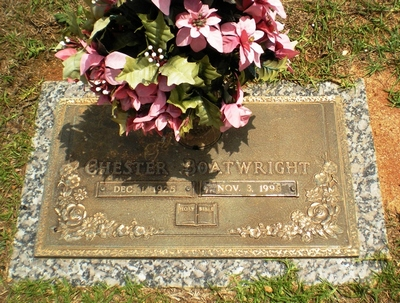 Chester Boatwright Gravestone
