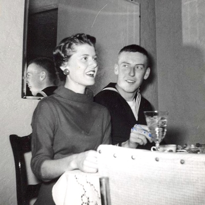 Juanita and George Boatright - 1957