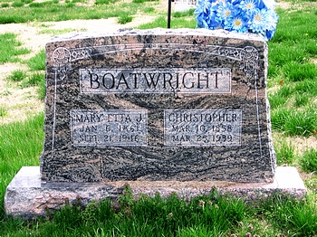 Christopher Alexander and Mary Etta Jane Beamon Boatwright