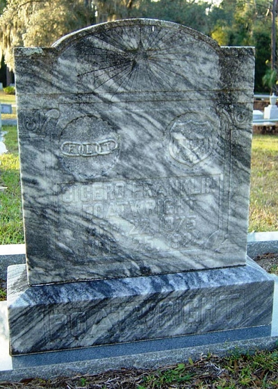 Cicero Franklin Boatwright Gravestone