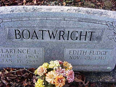 Clarence Lee Boatwright Gravestone: