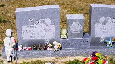 Clifford M. Boatright Gravestone