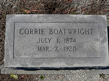 Corrie Boatwright Marker