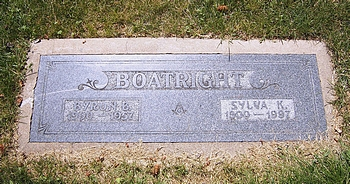 Byron Blackburn Boatright and Sylva Dora Kerr Marker