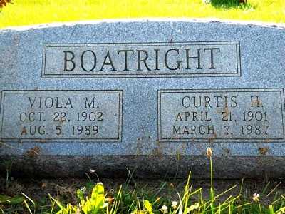 Curtis Henry Boatright Gravestone