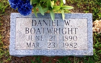 Daniel Webster Boatwright Marker
