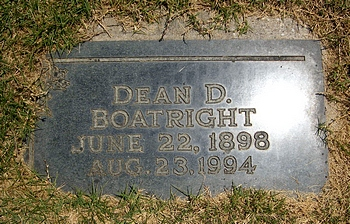 Dean Duggins Boatright Marker