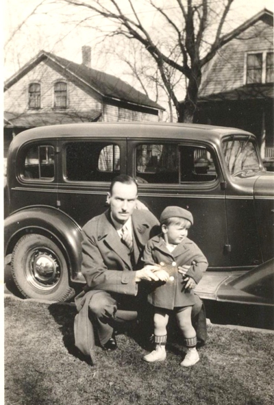 Dean and George Francis Boatright - age 3 - 1938