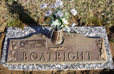 Don Leon Boatright Gravestone