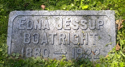 Edna Jessup Boatright Marker