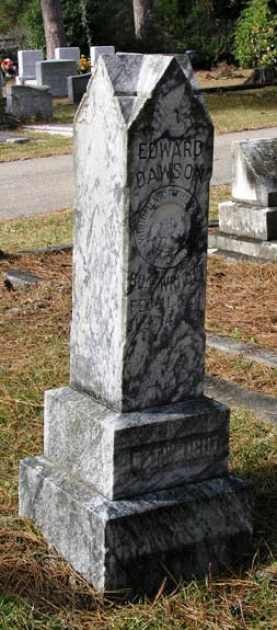 Edward Dawson Boatwright Gravestone