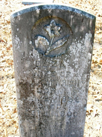 Eliza Mills Boatright Gravestone
