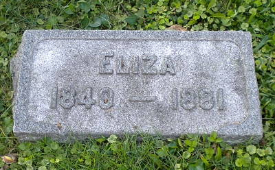 Eliza Jane Roberson Boatright Marker