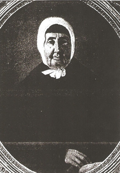 Elizabeth Faust Boatwright Photo - taken mid 1850s