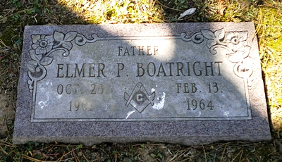 Elmer Polk Boatright Marker