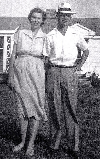 Fannie Jo Boatright and Harold Preston Hall