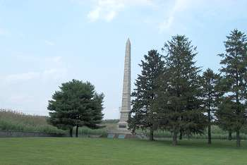 Finns Point Confederate Monument: