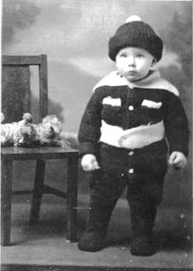 Cary Frederick Boatwright Jr. photo at age 1