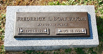 Frederick Lee Boatwright Marker