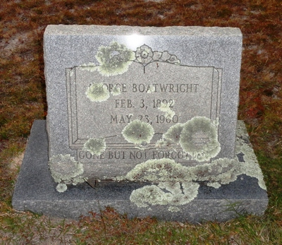 George Boatwright Gravestone