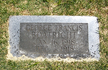 George Francis Boatright Marker