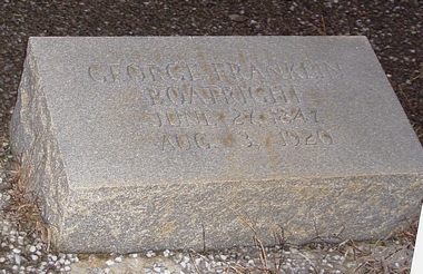 George Franklin Boatright Marker