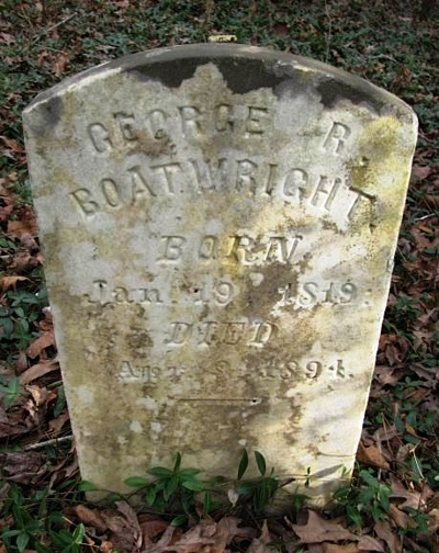 George R. Boatwright Gravestone