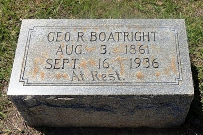 George Ruffin Boatright Gravestone