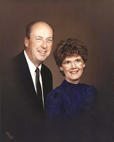 George and Juanita Boatright - 1990