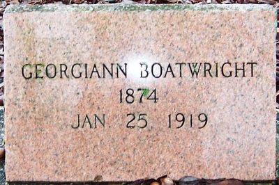 Georgiann Humphrey Boatwright Gravestone