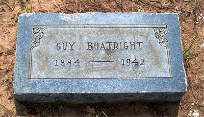 Augustus Gus Boatright Marker