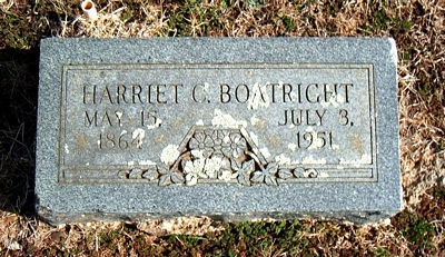 Harriett Catherine Wilson Boatright Marker