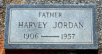 Harvey Jordan Boatright Marker