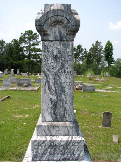 Henry Clay Boatright Gravestone